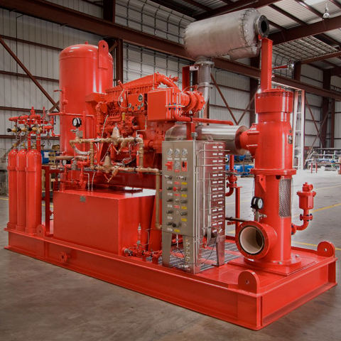 Fire Pump Package Pumps