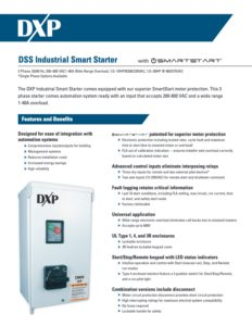 DXP Industrial Smart Starter Flyer