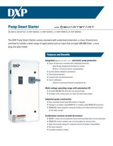 DXP Pump Smart Starter Flyer