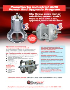 PumpWorks Industrial Power End Flyer