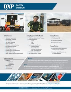 Safety Services Flyer