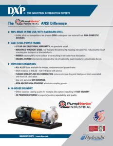 PumpWorks Industrial ANSI Difference Flyer
