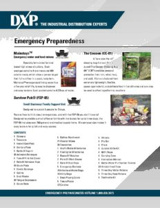 Emergency Preparedness – Hurricane