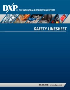 Safety Line Sheet