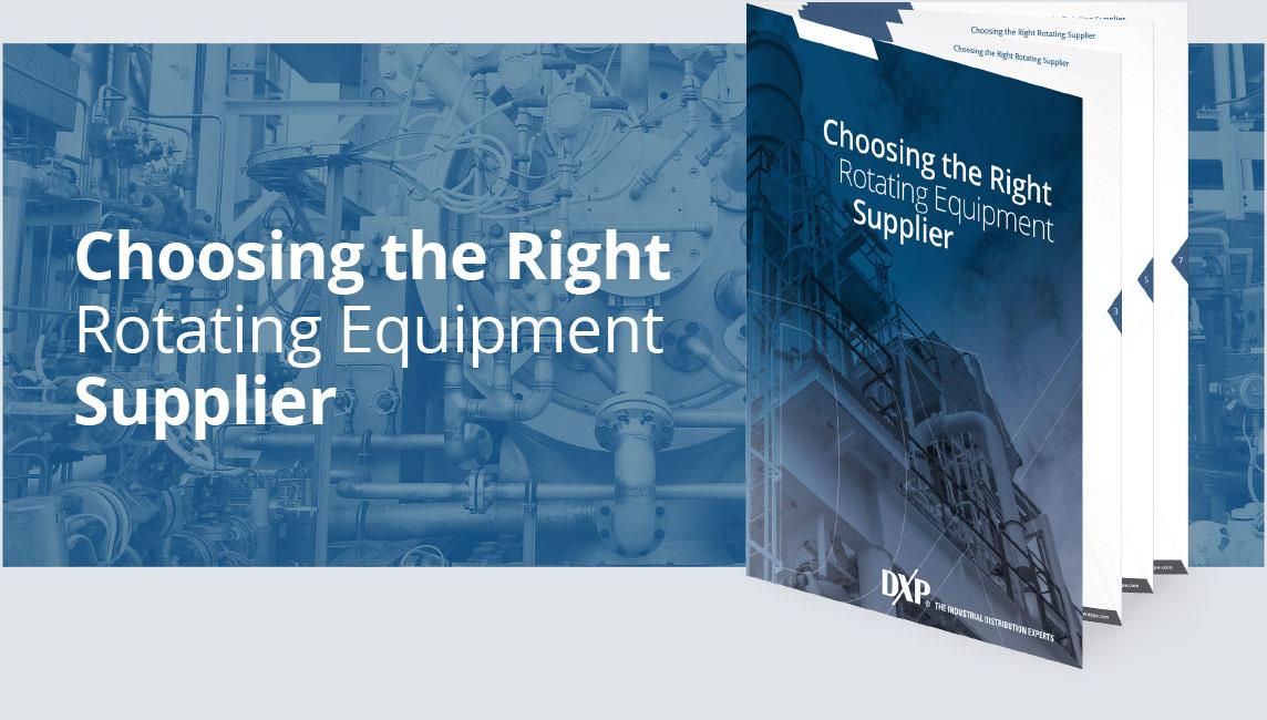 Ebook Choosing the Right Rotating Equipment Supplier