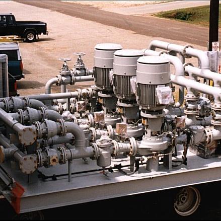 Biogas Tanker Truck Loading/Offloading