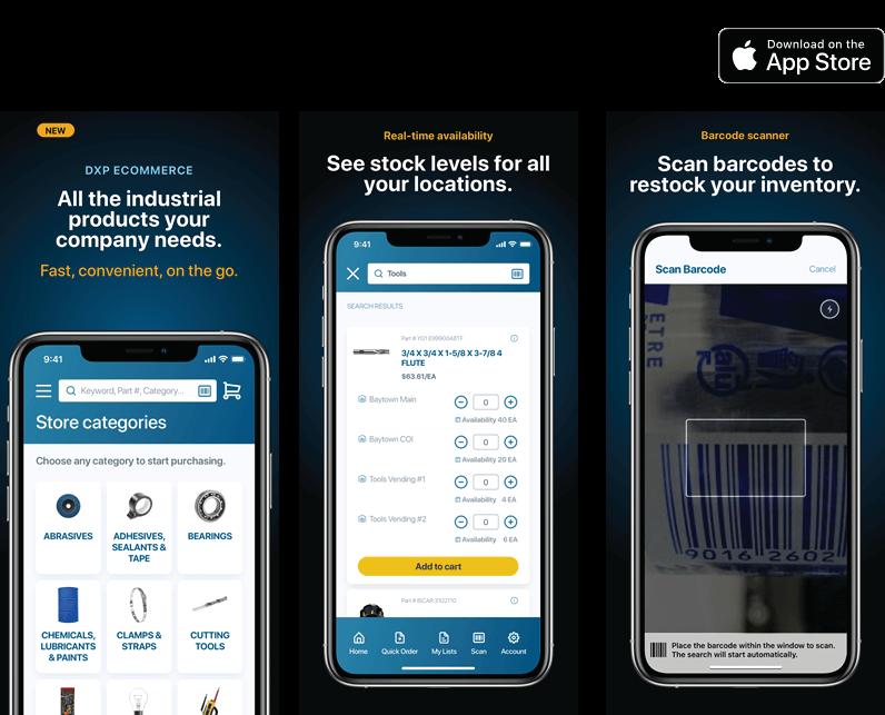 DXP app examples