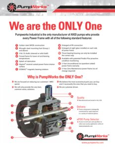 PumpWorks Only One Flyer